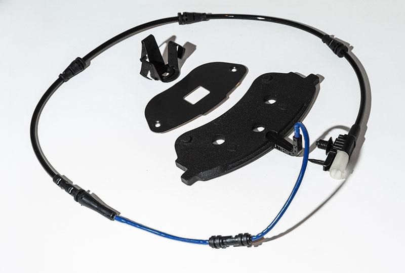 Componets Brake Industri Solutions Aftermarket Shims Plates Wear Sensor
